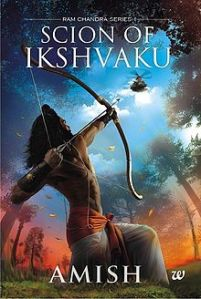 The cover art for Scion of Ikshvaku